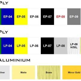 Engraving/Laserable Ply, Laserable Aluminium